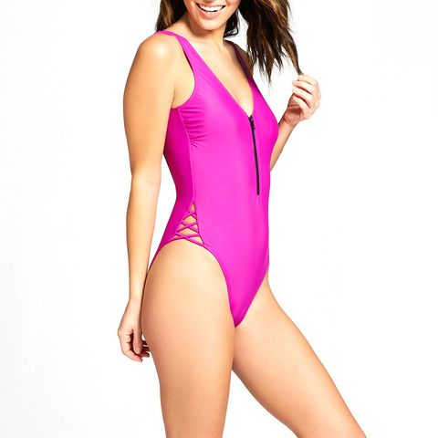 target pink one piece swimsuit