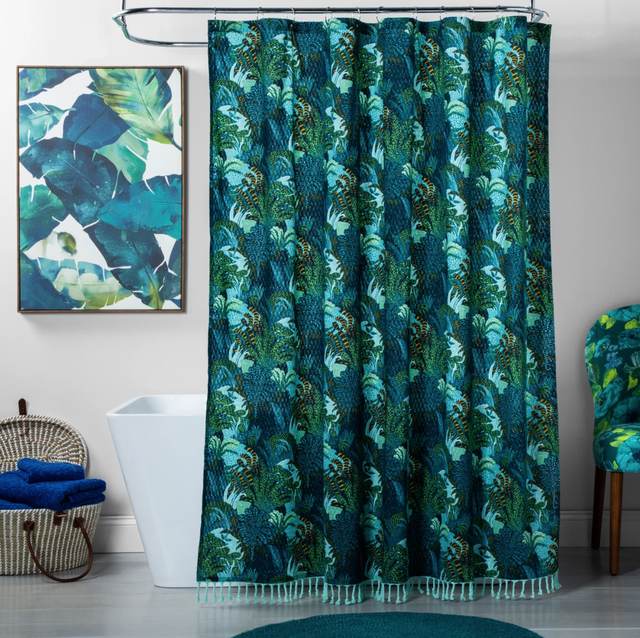 Opalhouse Target Jungle Print Shower Curtain
