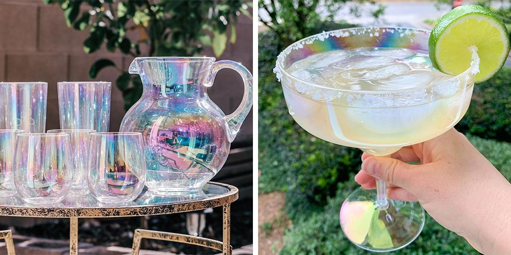 Target's New Iridescent Drinkware Will Add Some Shimmer to Your Next Picnic