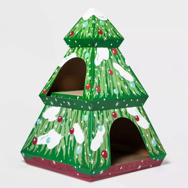 target wondershop holiday cat house