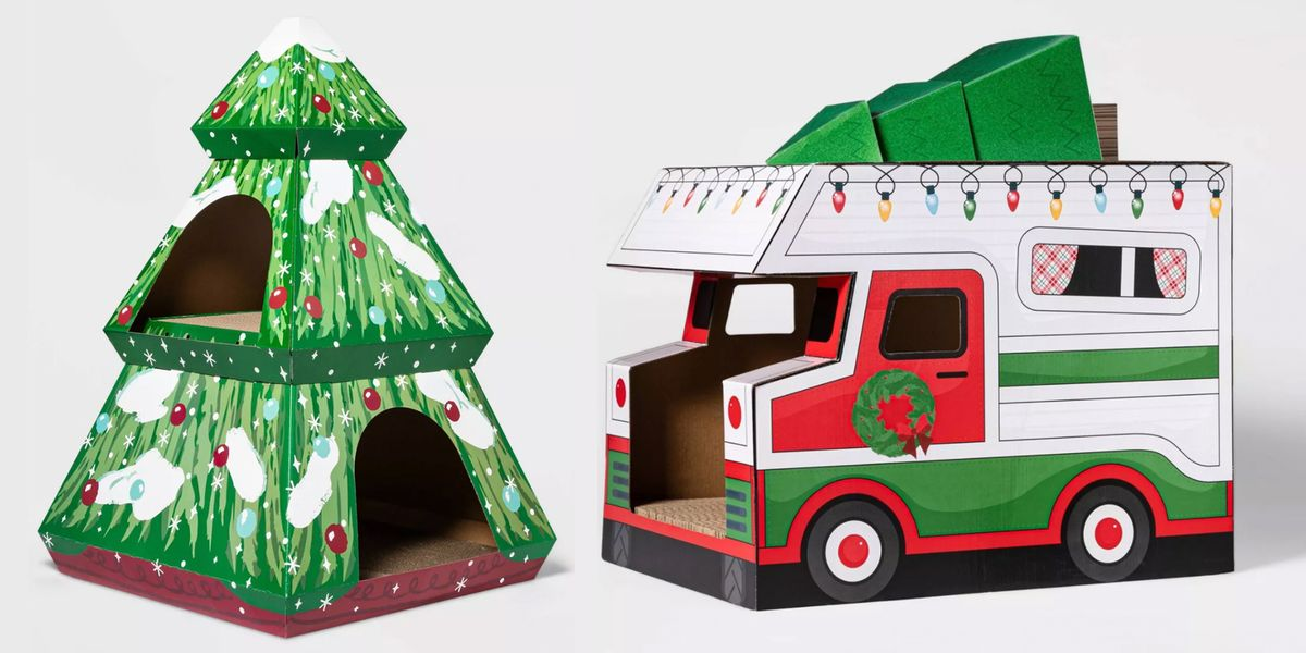 Target Has New Holiday Cat Houses That Will Get Your Pet ...