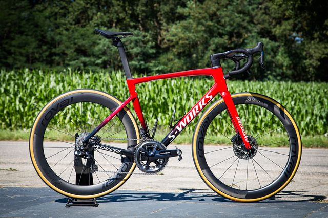 specialized, tarmac, sl7, review, racefiets, bicycling
