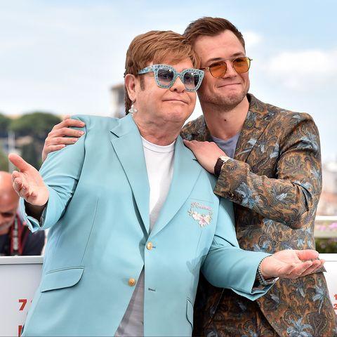 "Exclusive: Rocketman star Taron Egerton feels ""incredibly privileged"" to play Elton John"