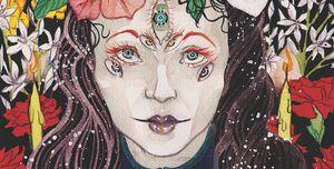 Tarotkaart geïllustreerd door Noel Heimpel.