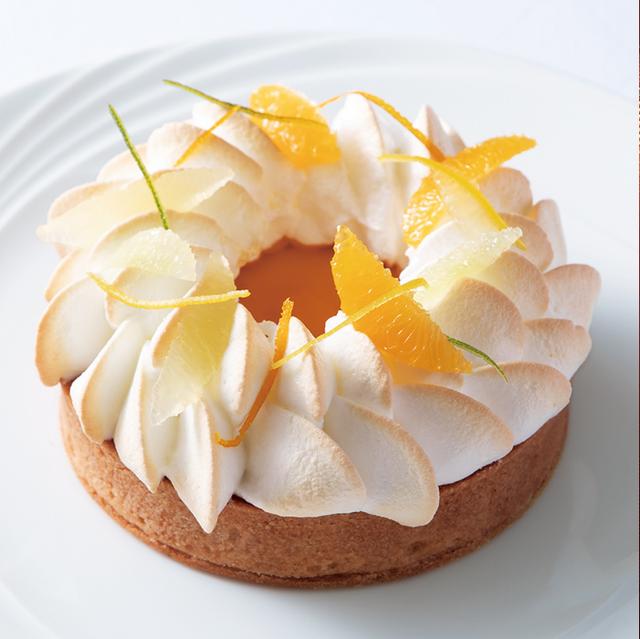 帝国ホテルのレシピ「柑橘のタルト」