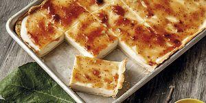 Tarta de queso con mermelada de higos