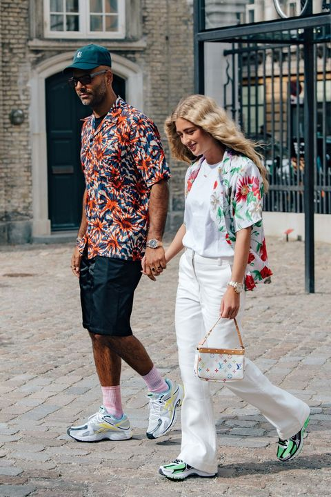 White, Photograph, Street fashion, People, Fashion, Yellow, Snapshot, Footwear, Fun, Shoe,