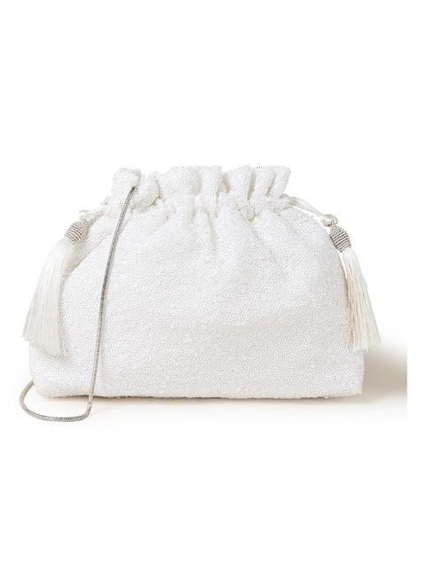 White, Beige, Bag, Fashion accessory,
