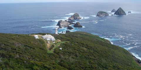 Remote Tasmanian Island