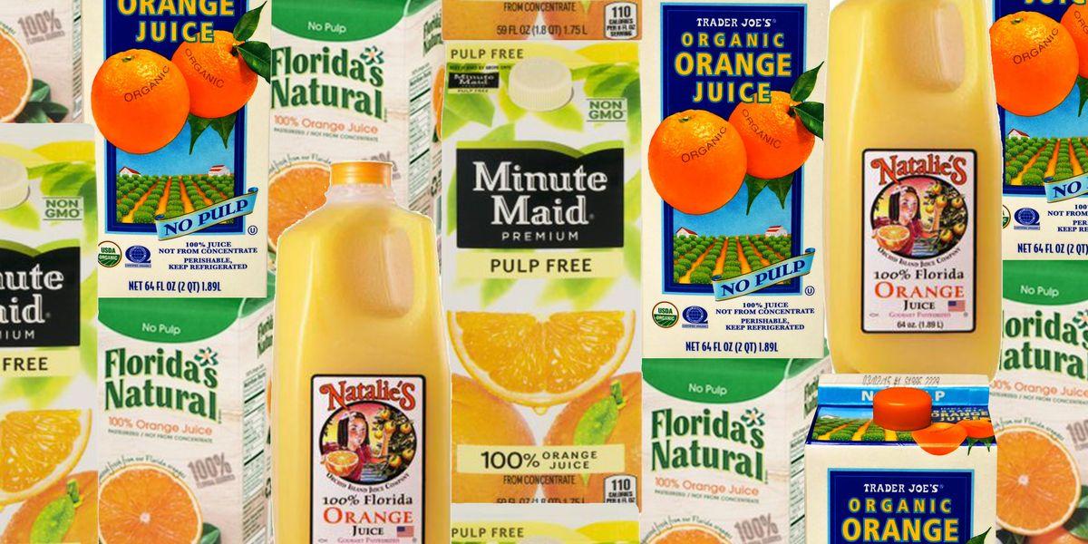 7 Best Store Bought Orange Juice Brands