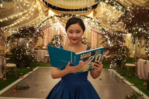 lara jean in 'to all the boys 3'