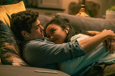 lara jean and peter kavinsky in to all the boys always and forever