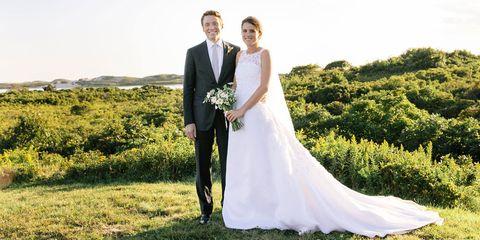 Tatiana Schlossberg Wedding