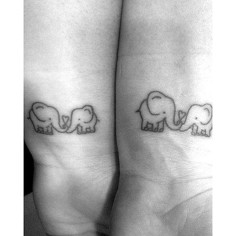 Laat Je Inspireren Door Deze Moeder Dochter Tattoos
