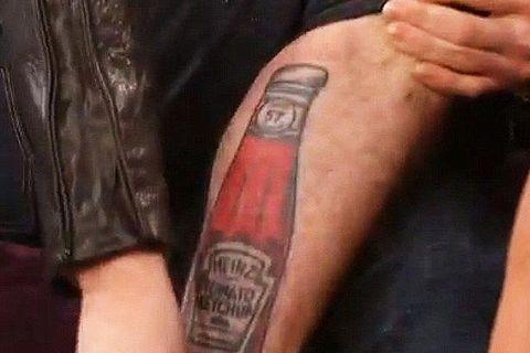 9ff79cd532836 Crazy Celebrity Tattoos — Funny Bad Celeb Tattoo Photos