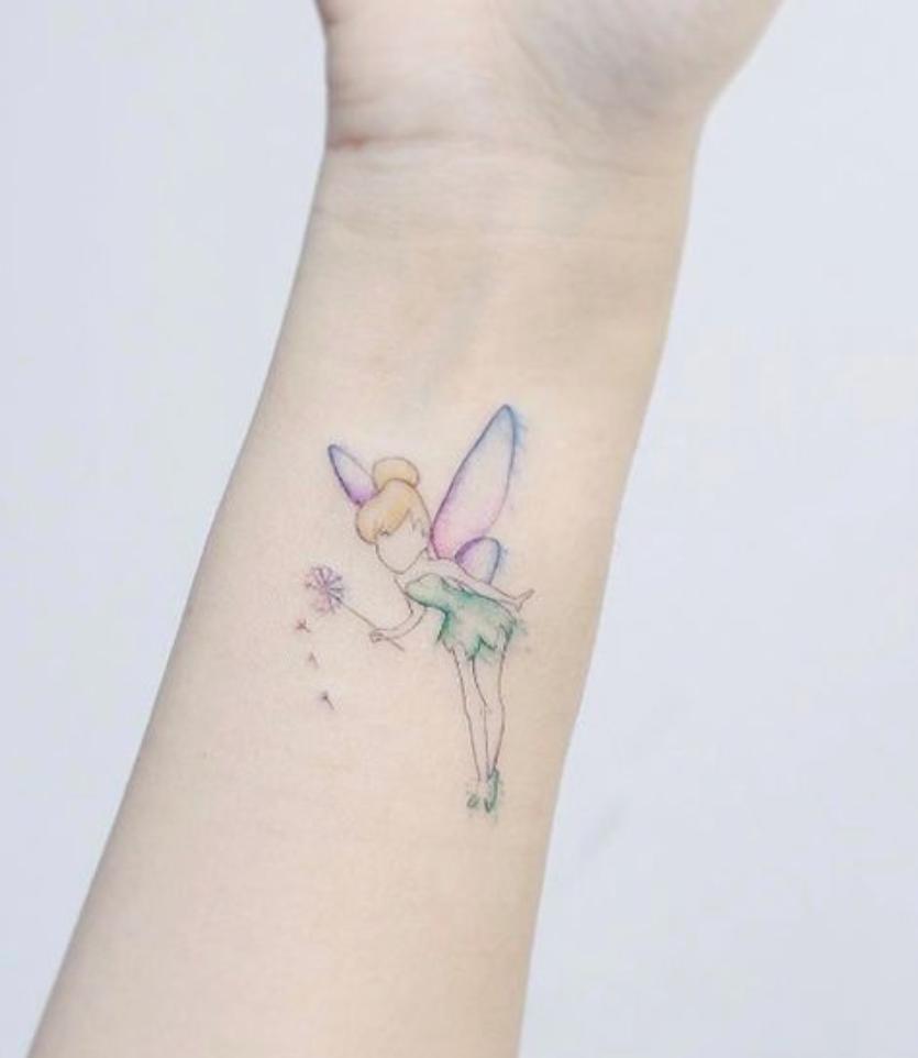 Tatuaje Campanilla