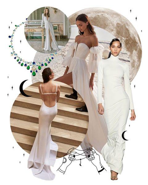 12星座 おうし座 ウエディングドレス