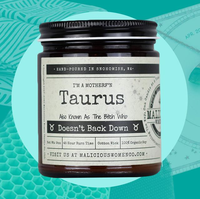 taurus candle, necklace, brooklinen sheets, seat cushion