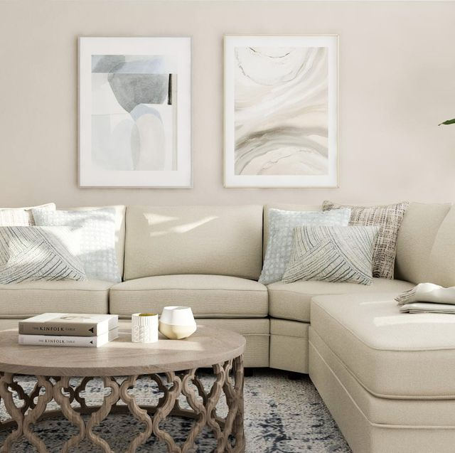 Living room, Furniture, Room, White, Couch, Interior design, Coffee table, Table, Property, Wall,