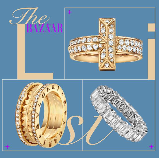 anelli oro diamanti