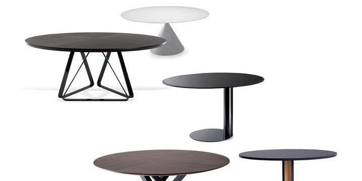 Tavoli di design rotondi