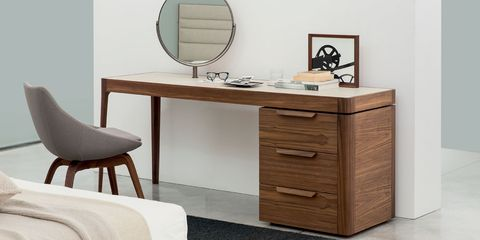 Furniture, Drawer, Chest of drawers, Dresser, Desk, Room, Table, Chiffonier, Interior design, Computer desk,
