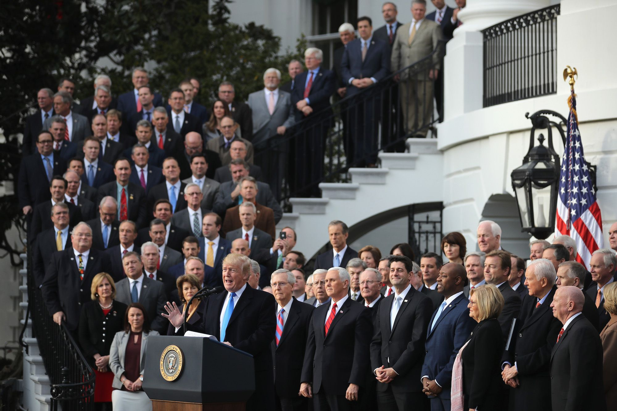 I Can't Believe So Many Republicans Are Backing an Administration* Full of Republicans