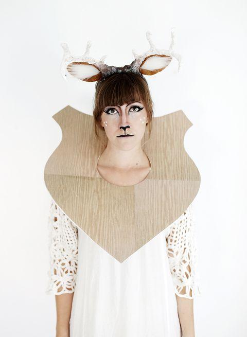 diy taxidermy deer halloween costume