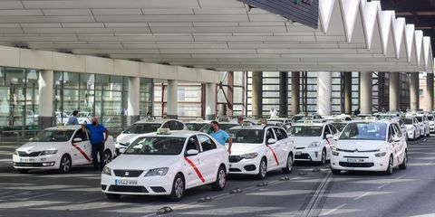 taxis hidrogeno madrid