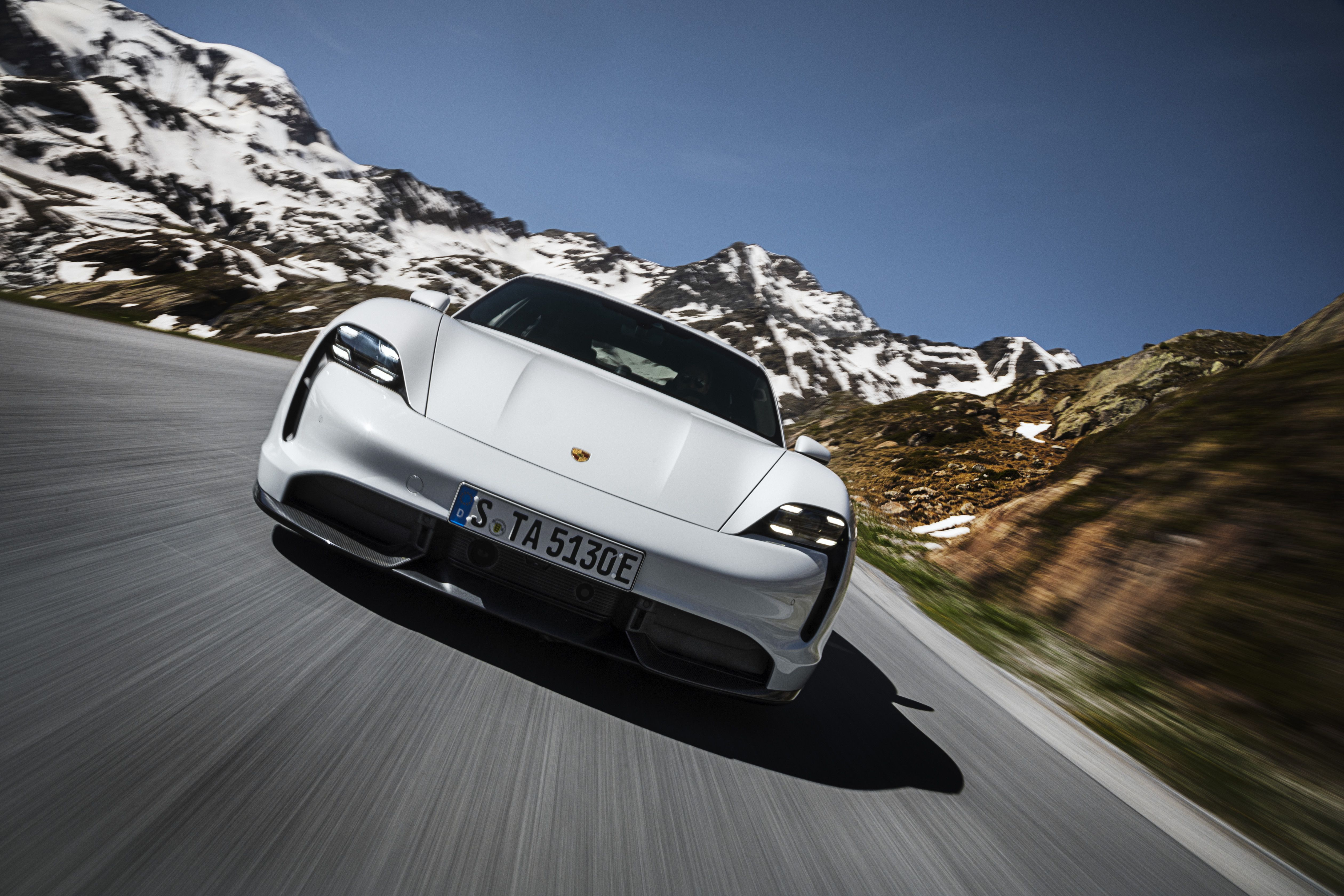 Even the All-Electric Porsche Taycan Has Fake Motor Noise Enhancement