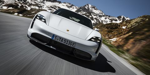 Even The Porsche Taycan Ev Has Fake Motor Noise Enhancement
