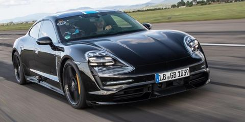 The 2020 Porsche Taycan EV Will Officially Debut September 4