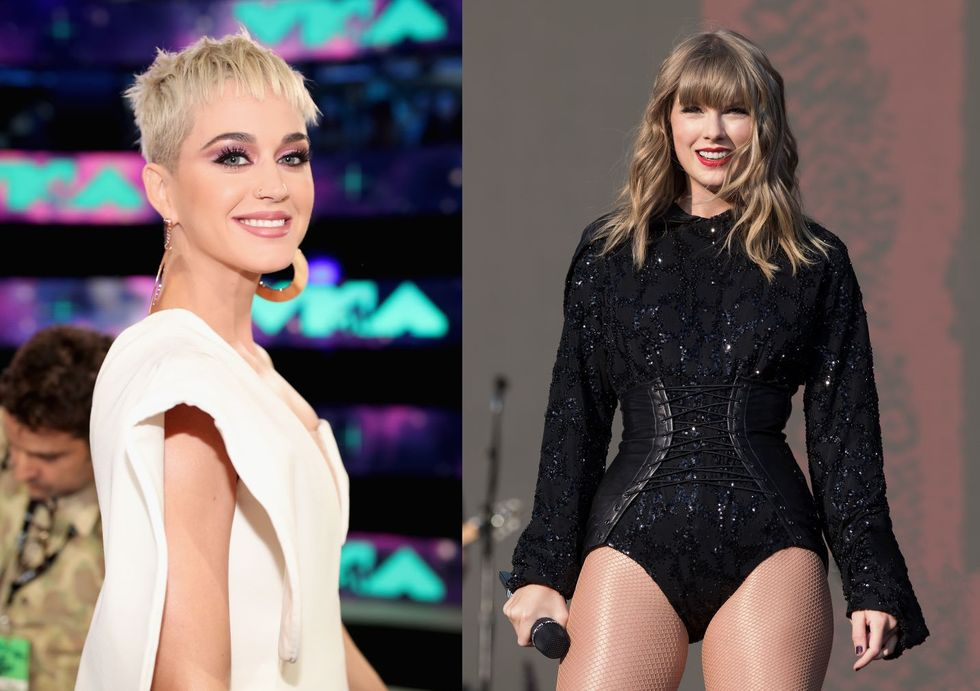 Katy Perry Proves Her Feud With Taylor Swift Is Over By Praising Her Political Statements