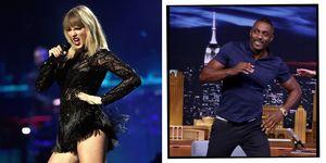 Taylor Swift Idris Elba Cats