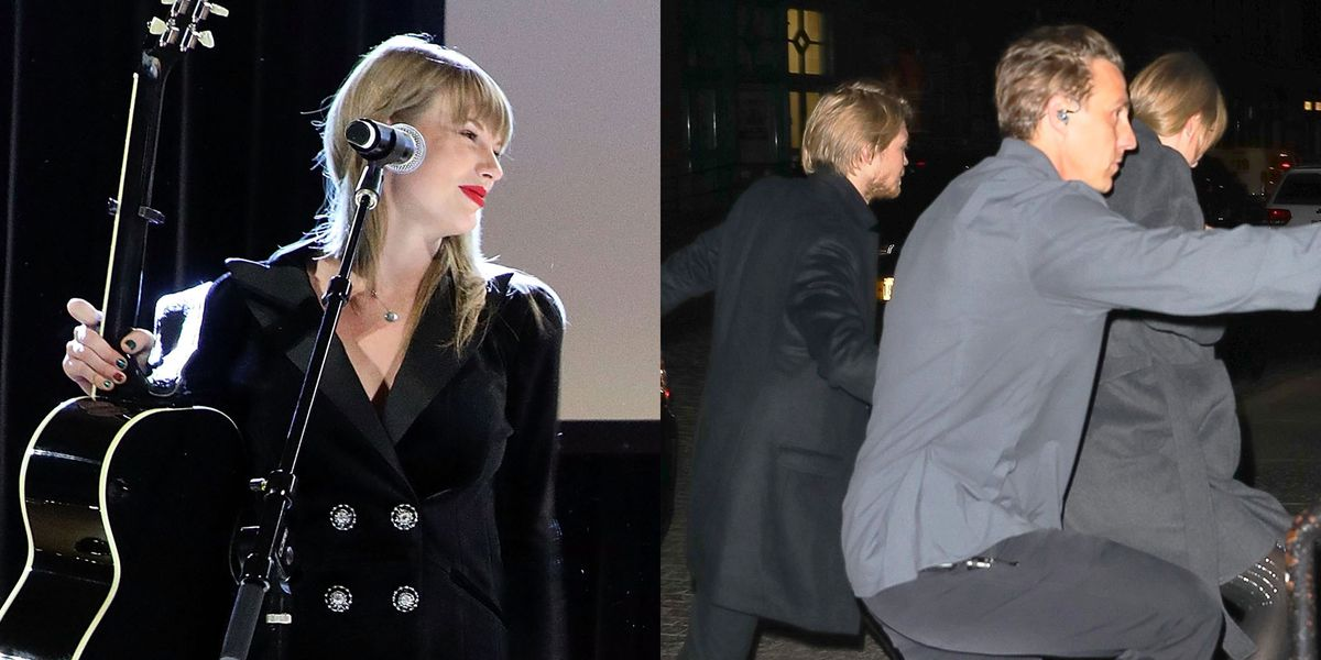 Taylor Swift and Joe Alwyn Had a Surprise Public Outing in New York City Yesterday