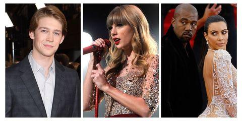 Joe Alwyn, Taylor Swift, and Kimye