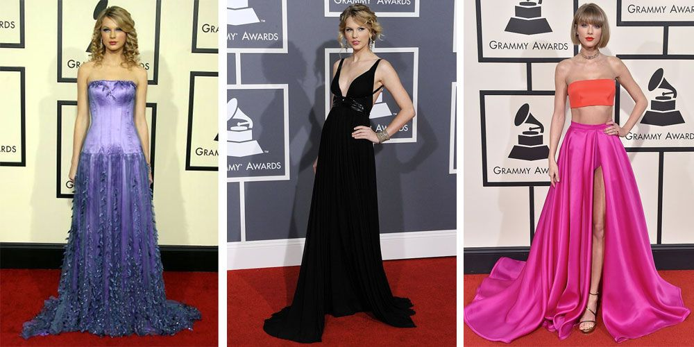 Taylor Swift S Grammys Looks Throughout The Years