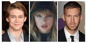 Taylor Swift, Calvin Harris, and Joe Alwyn