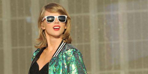 Eyewear, Sunglasses, Hair, Glasses, Lip, Blond, Cool, Street fashion, Hairstyle, Vision care,