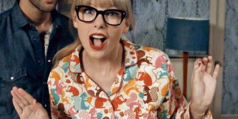 Eyewear, Glasses, Lip, Sunglasses, Mouth, Fun, Vision care,