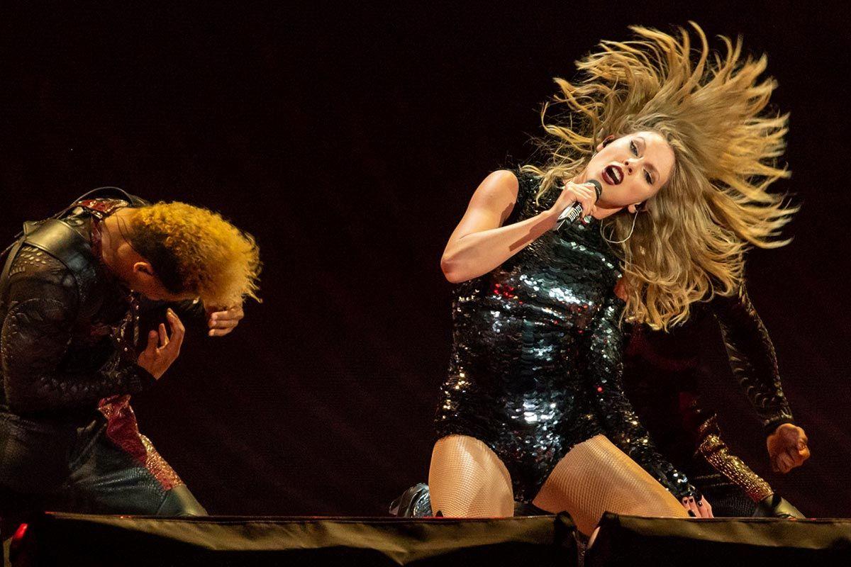 Taylor Swift de concierto
