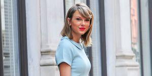 Taylo Swift moda color azul