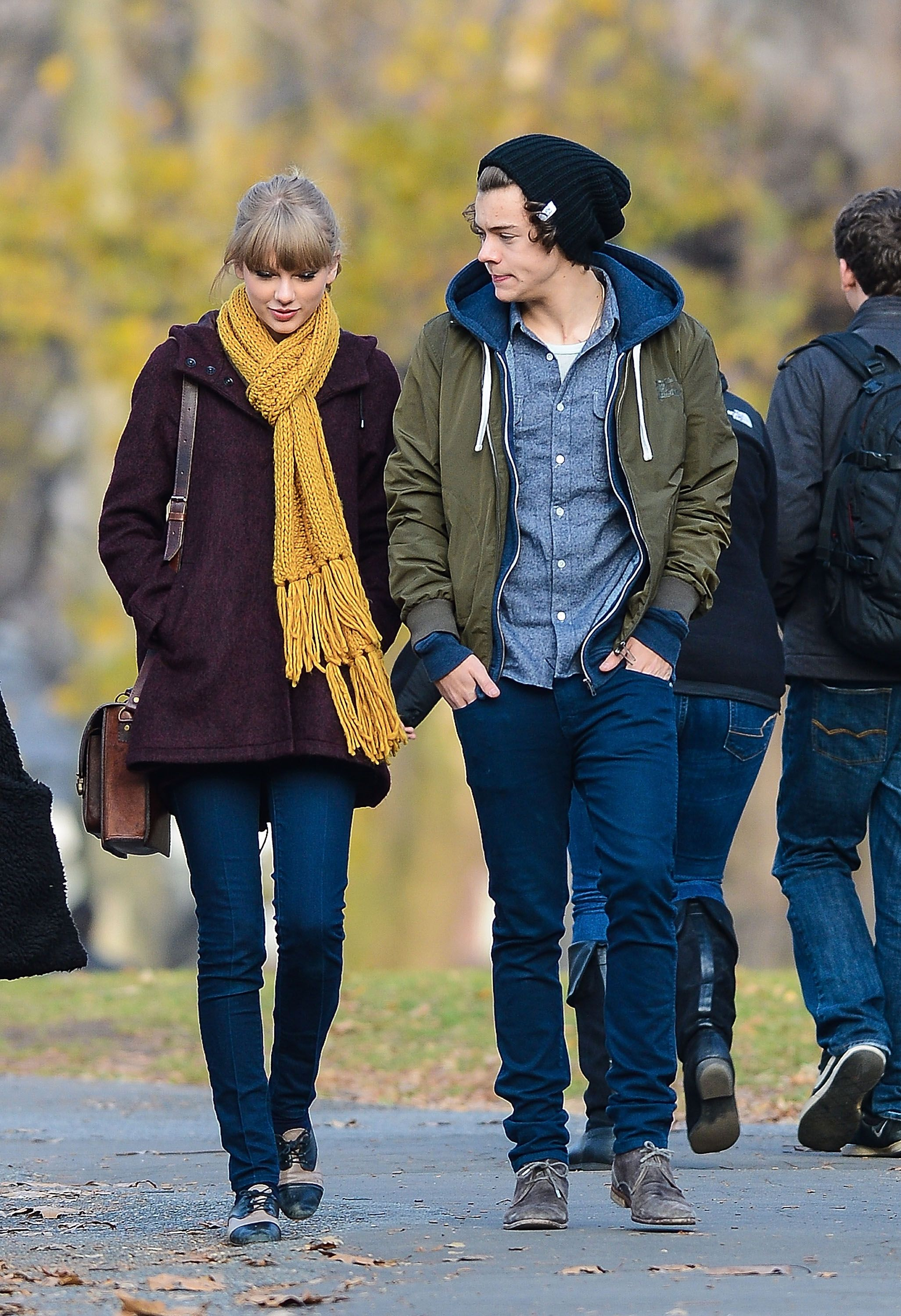 Harry Styles Talks About Taylor Swift And Her Songs About Him