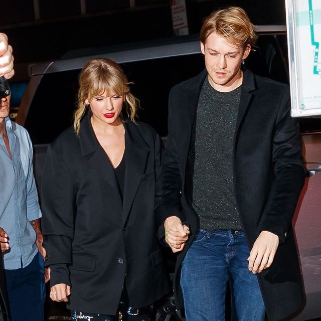 Taylor Swift Celebrated Joe Alwyn's Birthday with Ed Sheeran, Friends, and a Lot of Champagne