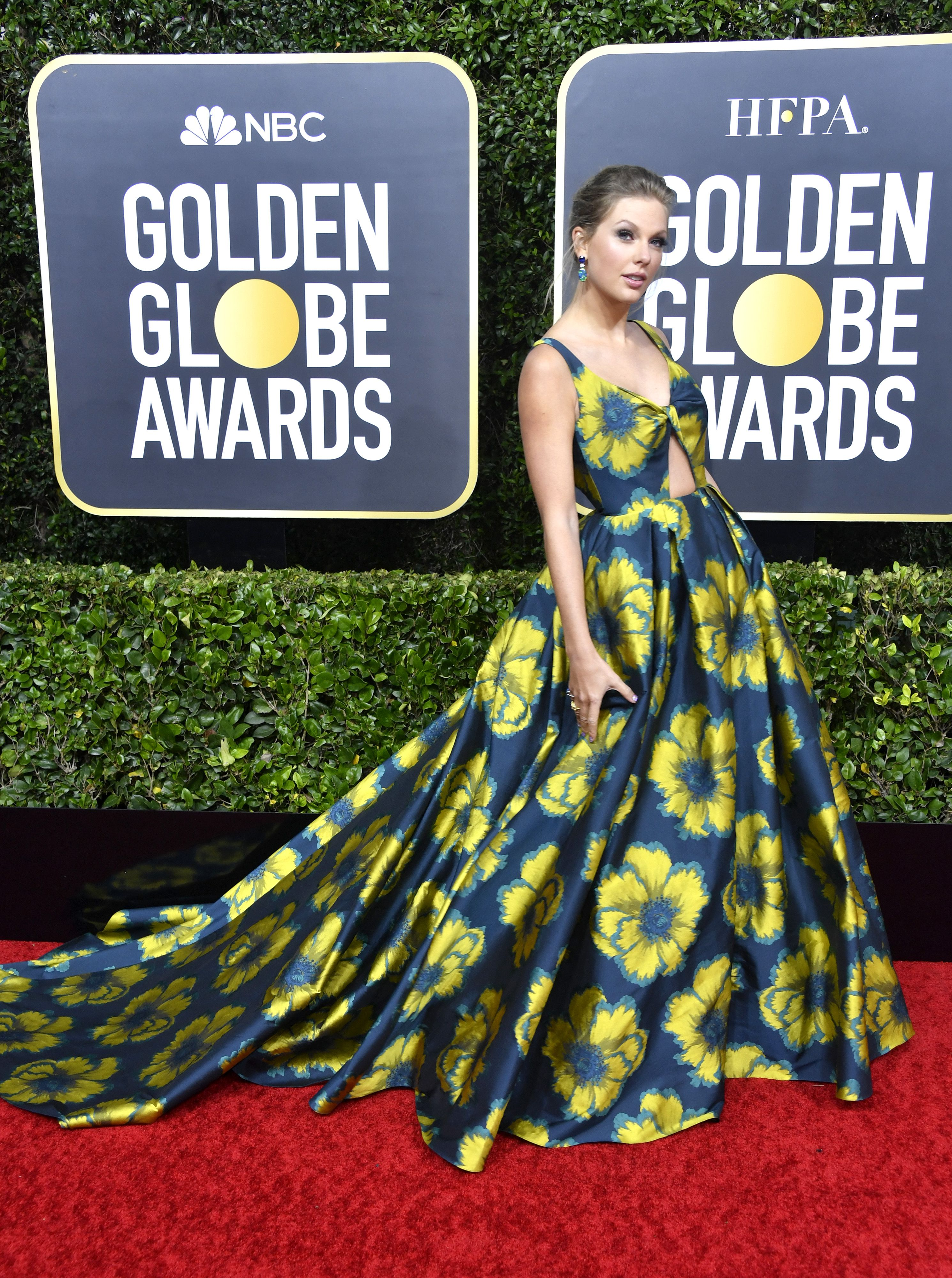 Golden Globes 2020 Best Dressed , Celebrity Fashion on the