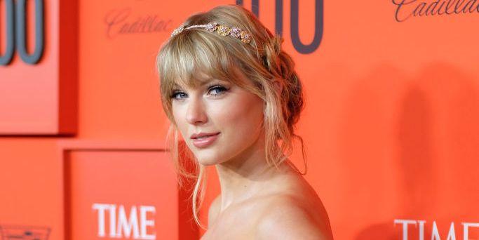 Taylor Swiften la alfombra roja de la gala Time 100 2019