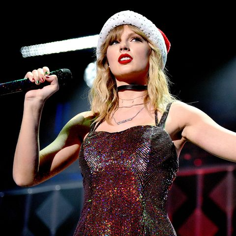 taylor swift performs at iheartradio's jingle ball 2019 in new york city