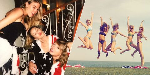 f4afa27c23 A Complete History of Taylor Swift's Fourth of July Parties - Taylor Swift  July 4 Rhode Island