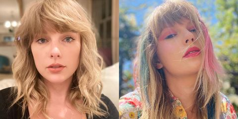 taylor swift hair transformation