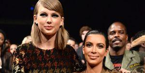 Taylor Swift en Kim Kardashian